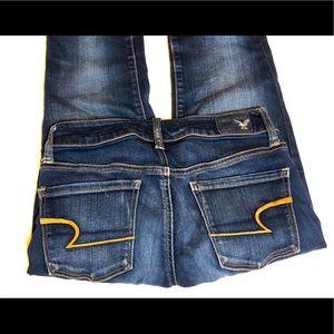 American Eagle Super Stretch, Skinny Jeans. Size 0